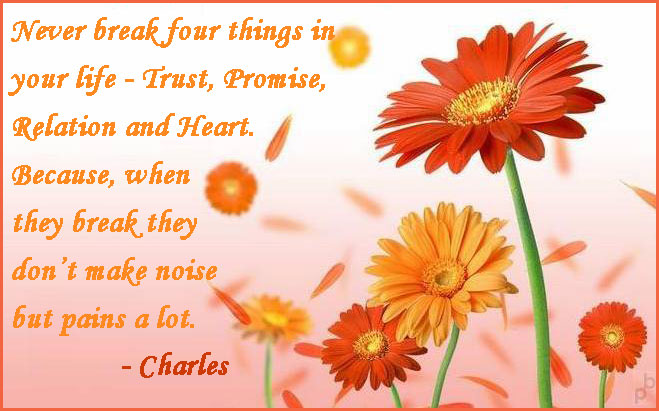 Great Saying by Charles