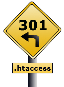 301 redirection with .htaccess